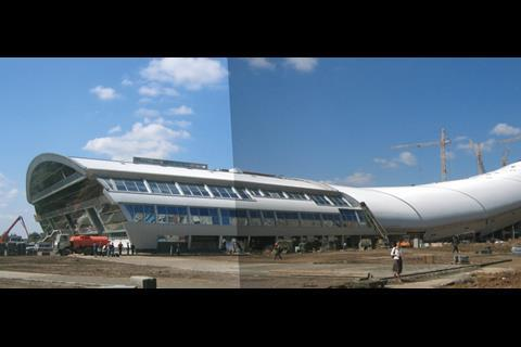 Buromoscow's Snej, Moscow's first indoor skiing facility